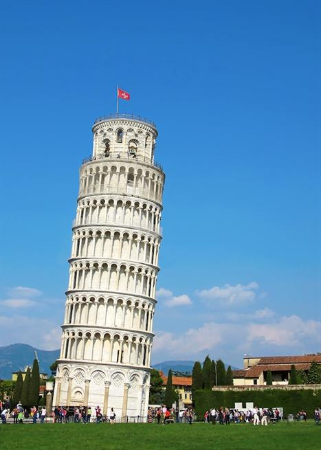 The Foundation Of The Leaning Tower Of Pisa
