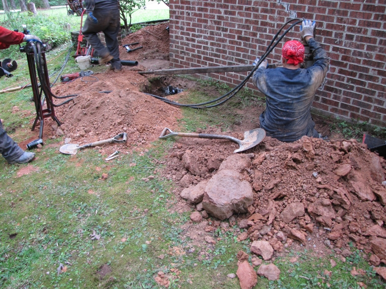 Ram Jack S Helical Installation Process In Nc