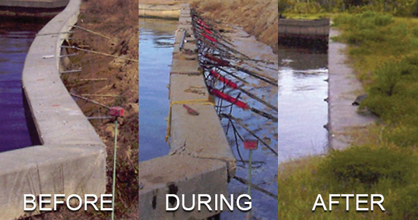 Seawall Amp Retainer Wall Solutions Gainesville Foundation
