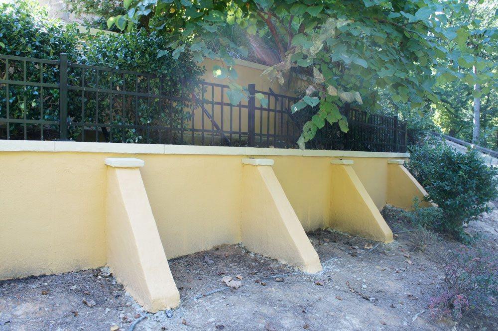 Repair Of Two Failing Retaining Walls Ram Jack