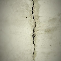 Crack in foundation