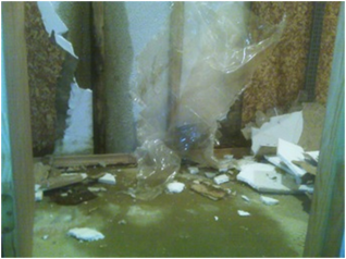 Basement water damage