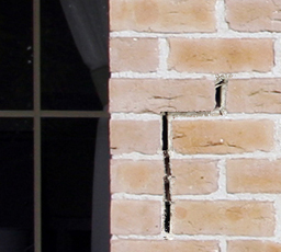 Cracks in the bricks