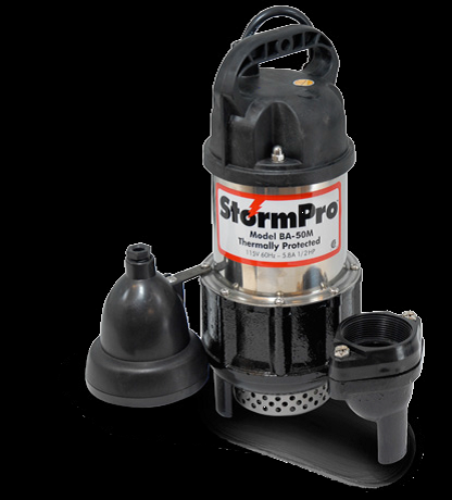 The Storm Pro Ba50 Series Main Pump