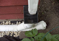 Drain with vent