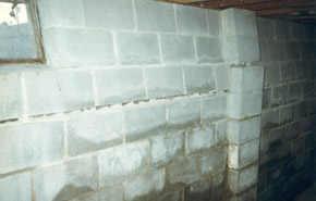 Bowing basement walls can be a serious problem that could lead to a home becoming unsafe and even result in a property being condemned. : bowed basement wall  - Aeropaca.Org