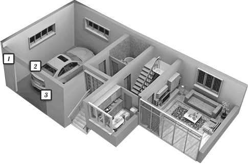 House interior diagram