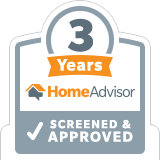 HomeAdvisor 3 Years Screened & Approved