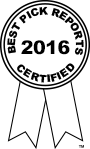 Best Pick Reports 2016 Certified