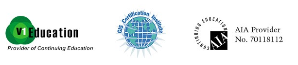 V1 Education, GIS Certification Institue, AIA Provider