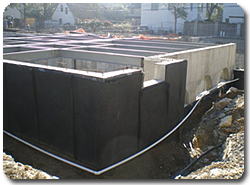 Traditional new construction damp-proofing can also be performed on existing homes.